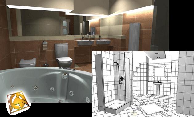 Professionelle Gestaltung des Badezimmers - FREE - SHOP BAUSTOFFE BAUEN MATBUD