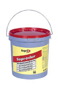 Soprodur Srodek iniekcyjny do wypelniania pustek pod plytkami 5 kg