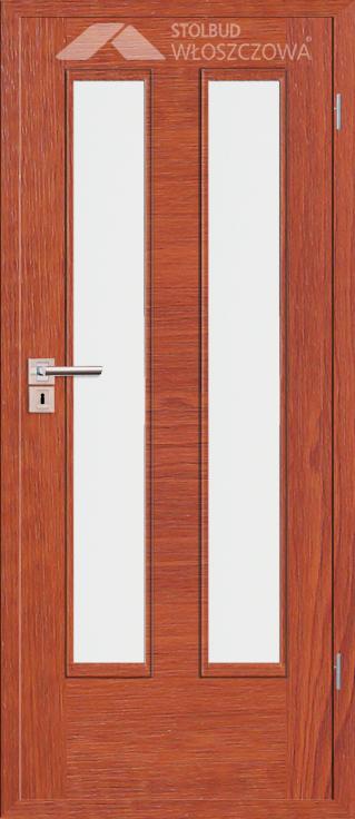 Drzwi wewnetrzne Simple D22 Fornir Plus Stolbud Wloszczowa
