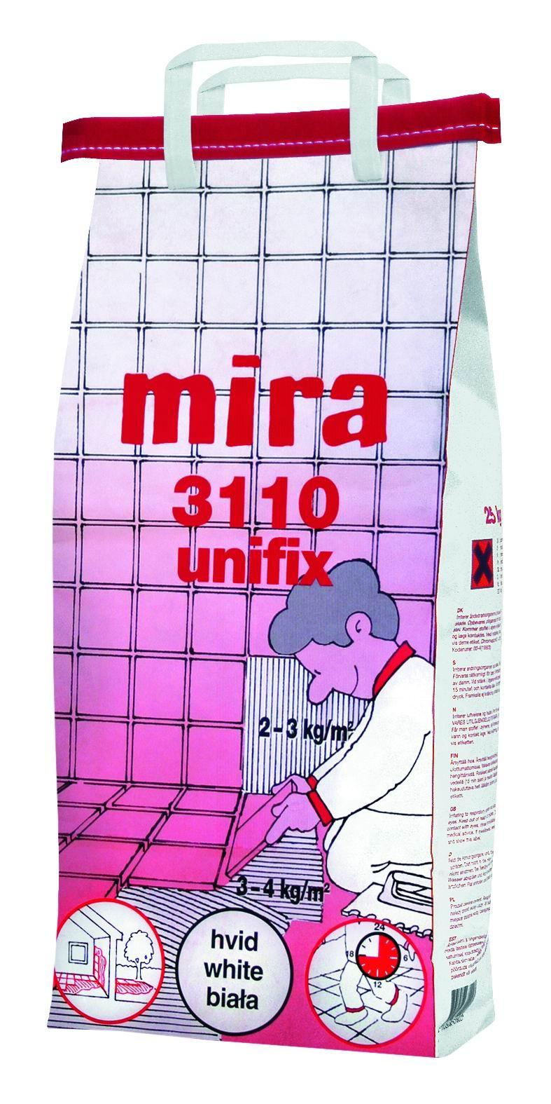 MIRA 3110 UNIFIX biala klej