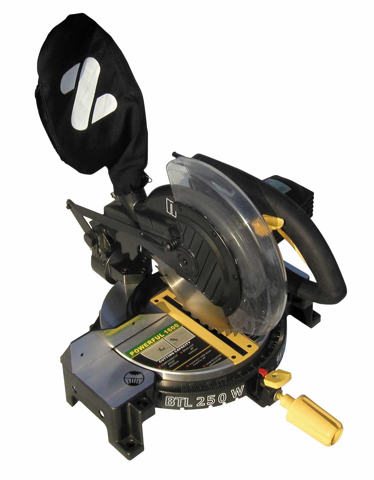 NUAIR BTL250 Pila ukosowa NUTOOL 250mm1800W z laserem