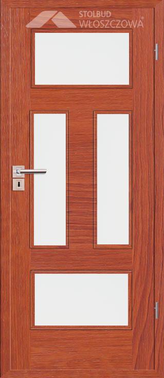 Drzwi wewnetrzne Simple C44 Fornir Plus Stolbud Wloszczowa