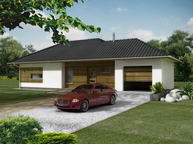SPOMET Dom MAX 10 z garazem