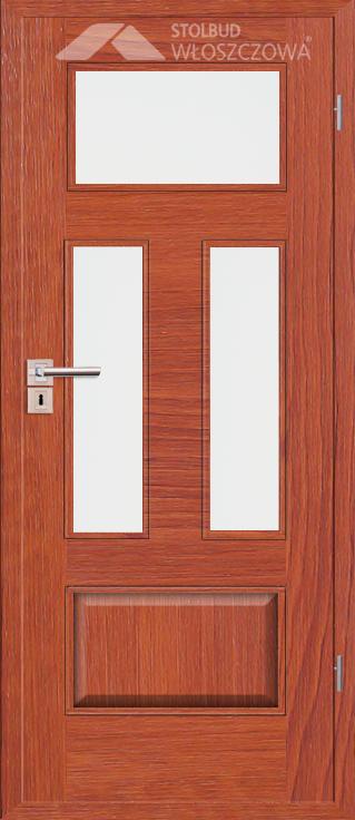 Drzwi wewnetrzne Simple C43 Fornir Plus Stolbud Wloszczowa