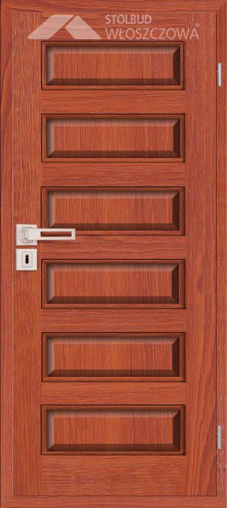 Drzwi wewnetrzne Modern C60 Fornir Stolbud Wloszczowa