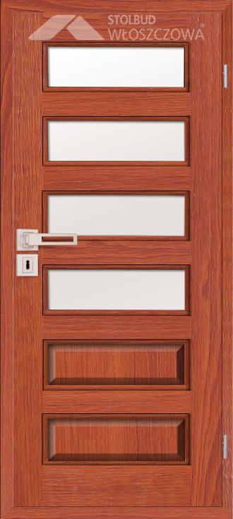 Drzwi wewnetrzne Modern C64 Fornir Stolbud Wloszczowa