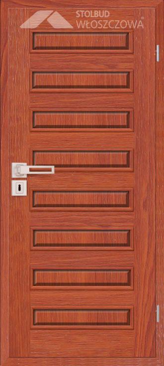 Drzwi wewnetrzne Modern D80 Fornir Stolbud Wloszczowa