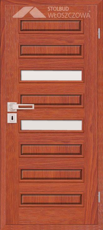 Drzwi wewnetrzne Modern D8B Fornir Stolbud Wloszczowa