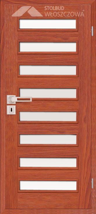 Drzwi wewnetrzne Modern D88 Fornir Stolbud Wloszczowa