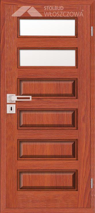 Drzwi wewnetrzne Modern C62 Fornir Stolbud Wloszczowa