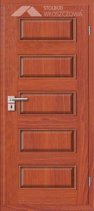 Drzwi wewnetrzne Modern B50 Fornir Stolbud Wloszczowa