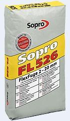 Sopro FL Fuga szeroka elastyczna z trasem 220 mm 25 kg