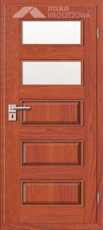 Drzwi wewnetrzne Modern B52 Fornir Stolbud Wloszczowa
