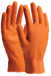 "STALCO PERFECT rękawice nitrylowe ""nitrax grip orange"" 8"" s-76367"