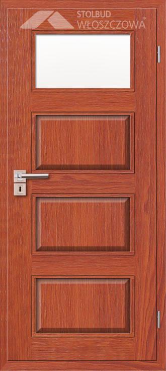 Drzwi wewnetrzne Modern A41 Fornir Stolbud Wloszczowa