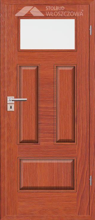 Drzwi wewnetrzne Simple C41 Fornir Plus Stolbud Wloszczowa