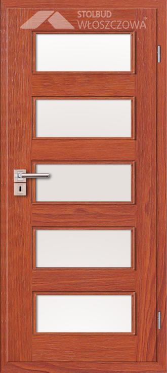 Drzwi wewnetrzne Modern B55 Fornir Stolbud Wloszczowa