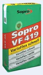 Sopro VF 419 Elastyczna zaprawa klejowa do podlog szybkowiazaca 25 kg
