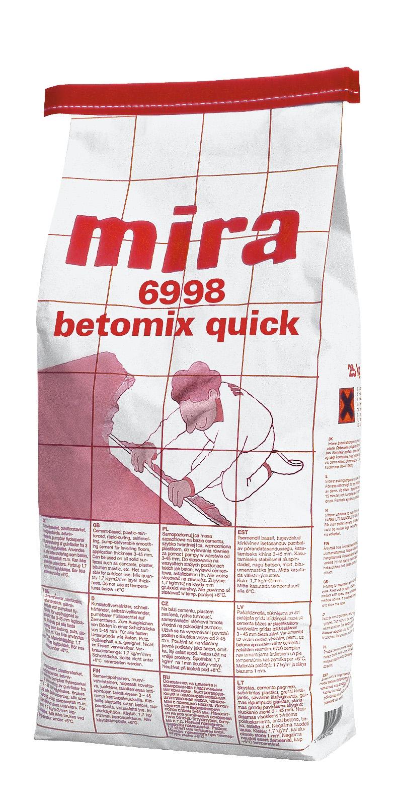 MIRA 6998 BETOMIX QUICK beton