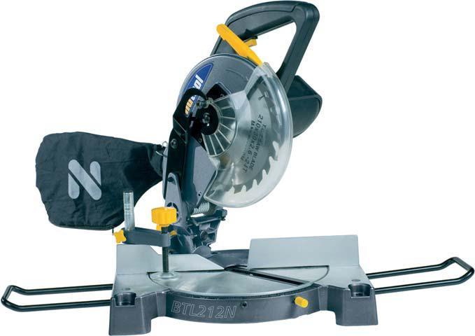 NUAIR BTL212N Pila ukosowa 210mm1300W z laserem NUTOOL