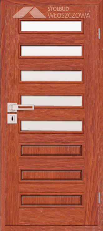 Drzwi wewnetrzne Modern D85 Fornir Stolbud Wloszczowa