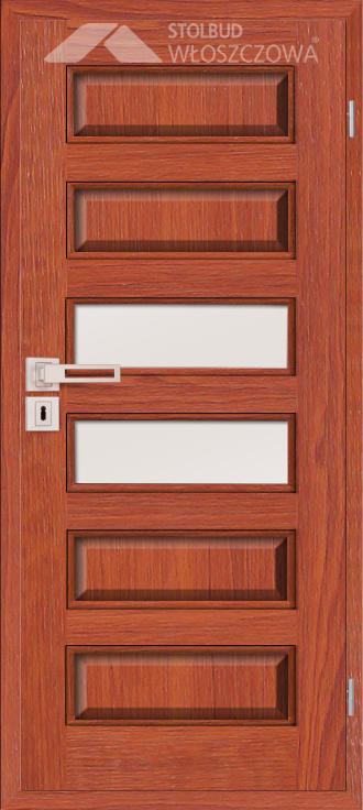 Drzwi wewnetrzne Modern C6B Fornir Stolbud Wloszczowa