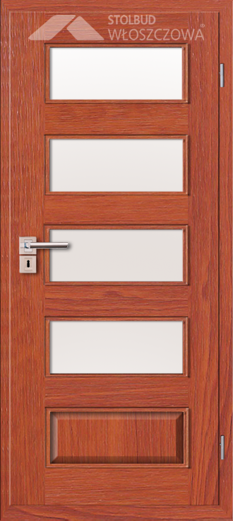 Drzwi wewnetrzne Modern B54 Fornir Stolbud Wloszczowa