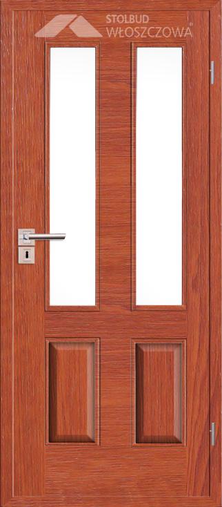 Drzwi wewnetrzne Simple B42 Fornir Plus Stolbud Wloszczowa