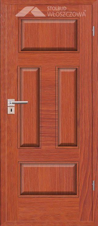 Drzwi wewnetrzne Simple C40 Fornir Plus Stolbud Wloszczowa