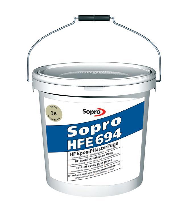Sopro HFE Fuga epoksydowa do kostki brukowej wysokowytrzymala 25 l