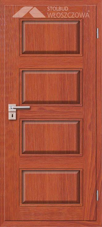 Drzwi wewnetrzne Modern A40 Fornir Stolbud Wloszczowa