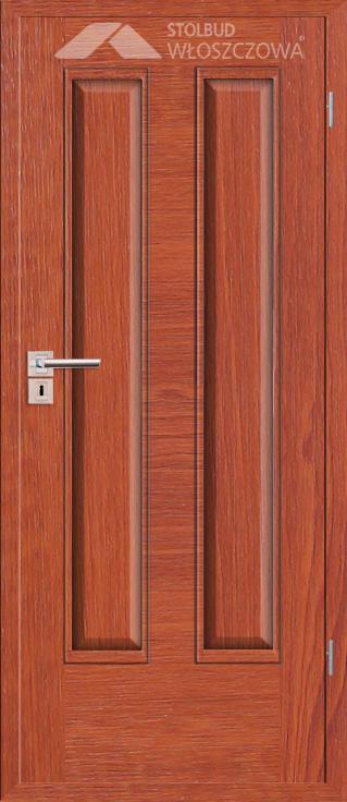 Drzwi wewnetrzne Simple D20 Fornir Plus Stolbud Wloszczowa