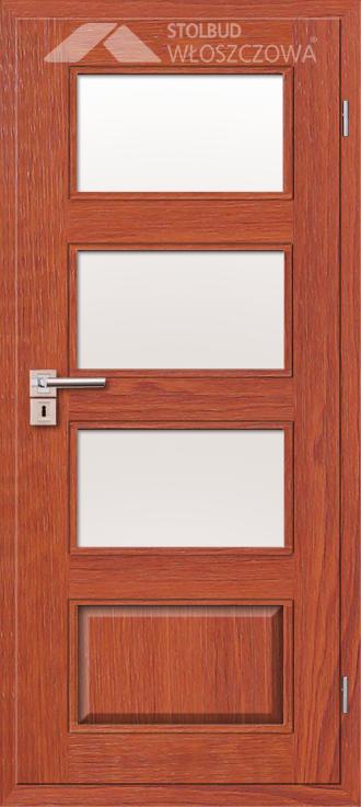 Drzwi wewnetrzne Modern A43 Fornir Stolbud Wloszczowa