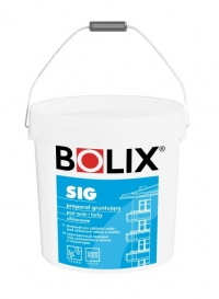 BOLIX SIG preparat gruntujacy pod tynki i farby silikonowe cena za 20 kg