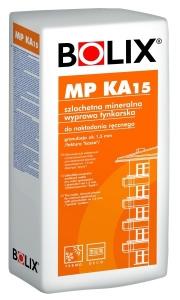 BOLIX MP KA15 szlachetna mineralna wyprawa tynkarska do nakladania recznego o granulacji ok 15 mm faktura kasza cena za 25 kg