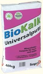 Sopro BKUP 189 Naturalny uniwersalny tynk wapienny 25 kg