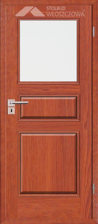 Drzwi wewnetrzne Simple A31 Fornir Plus Stolbud Wloszczowa