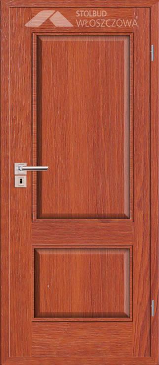Drzwi wewnetrzne Simple F20 Fornir Plus Stolbud Wloszczowa