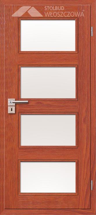 Drzwi wewnetrzne Modern A44 Fornir Stolbud Wloszczowa