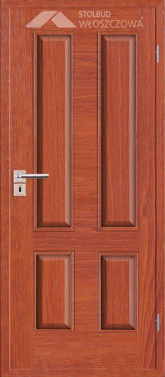 Drzwi wewnetrzne Simple B40 Fornir Plus Stolbud Wloszczowa