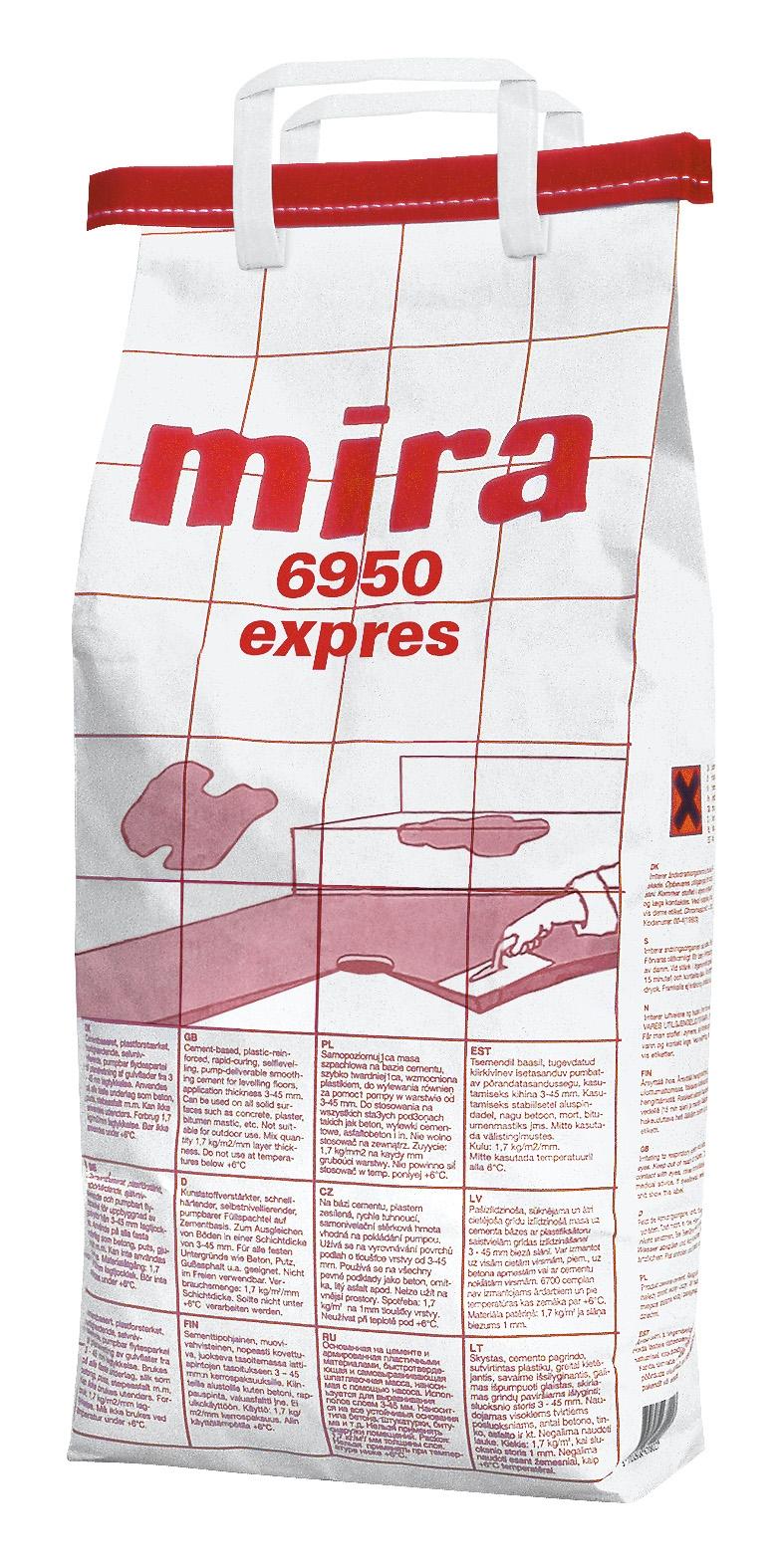 MIRA 6950 EXPRES masa szpachlowa